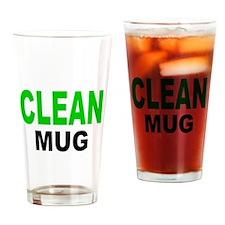 CLEAN MUG Drinking Glass