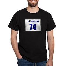 LaMagdelaine Black T-Shirt