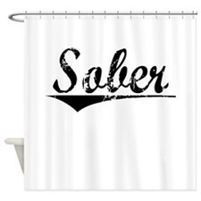 Sober, Aged, Shower Curtain
