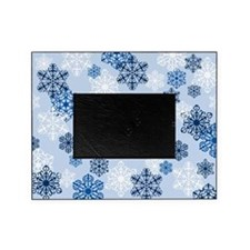 Holiday Winter Snowflake Photo Picture Frameb