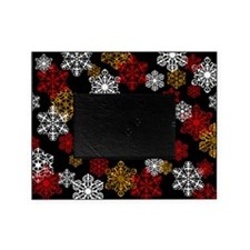 Winter Holiday Snowflake Photo Picture Framer