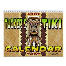 Tucker's Tiki- Wall Calendar