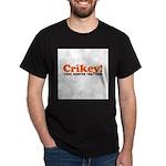 Crikey Crocodile Hunter Dark T-Shirt