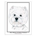 West Highland White Terrier Edition Small Poster