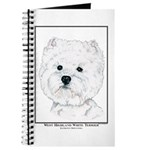 West Highland White Terrier Edition Journal