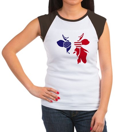 Aunt Fighter (Blue Ribbon) Baseball Jersey