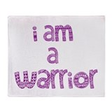 Deco Warrior Throw Blanket