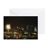 The City of Pittsburgh, fireworks Cards (6)