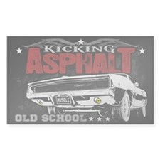 Kicking Asphalt - Charger Decal