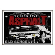 Kicking Asphalt - Charger Banner
