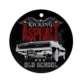 Kicking Asphalt - Charger Ornament (Round)