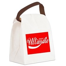Ultimate Frisbee, Funny, Canvas Lunch Bag
