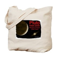 Revolve In Peace Pluto Tote Bag