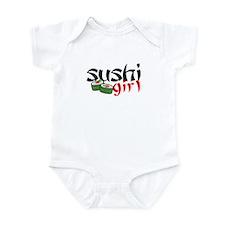 sushi girl Infant Creeper