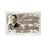Ronald Reagan Tribute Rectangle Magnet (10 pack)
