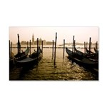 Gondola Venice Italy 20x12 Wall Decal