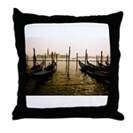 Gondola Venice Italy Throw Pillow