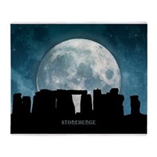 Stonehenge Throw Blanket