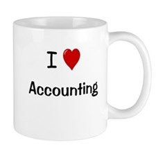 I Love Accounting Mug