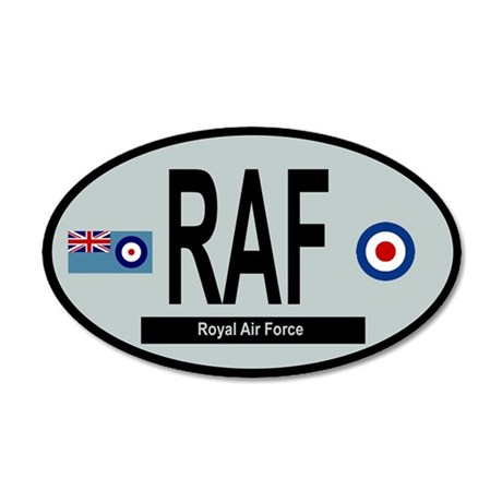 RAF Modern 01 20x12 Oval Wall Decal