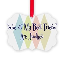 Cute Friend court Ornament