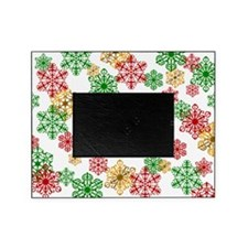 Winter Holiday Snowflake Picture Frame