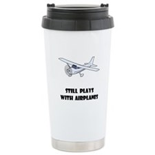 Unique Airplane Travel Mug