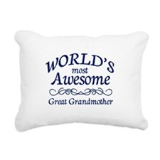 Great Grandmother Rectangular Canvas Pillow
