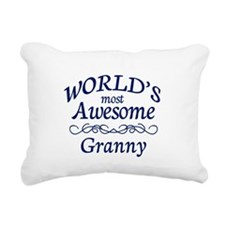 Granny Rectangular Canvas Pillow