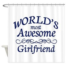 Girlfriend Shower Curtain