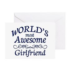 Girlfriend Greeting Cards (Pk of 20)