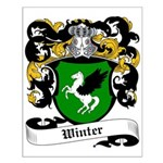 Winter Coat of Arms Small Poster
