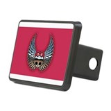 Funny Rock and roll Rectangular Hitch Cover
