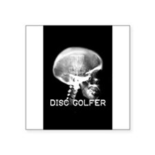 Disc Golfer Sticker