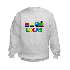 TRAIN - Personalized LUCAS Sweatshirt