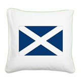Cute Scottish Square Canvas Pillow