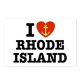 I Love Rhode Island Postcards (Package of 8)