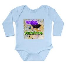 Wine & Friends Long Sleeve Infant Bodysuit