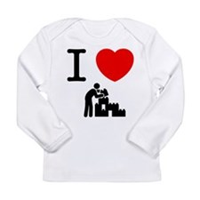 Building Blocks Long Sleeve Infant T-Shirt