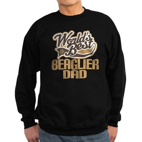 Beaglier Dog Dad Sweatshirt (dark)