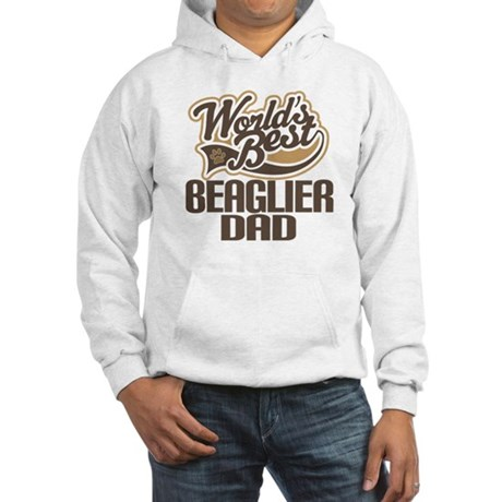 Beaglier Dog Dad Hooded Sweatshirt