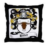 Ritter Coat of Arms Throw Pillow