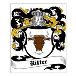Ritter Coat of Arms Small Poster