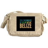 Feel the Breeze in Belize Messenger Bag