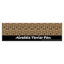Airedale Terrier Fan Bumper Bumper Sticker