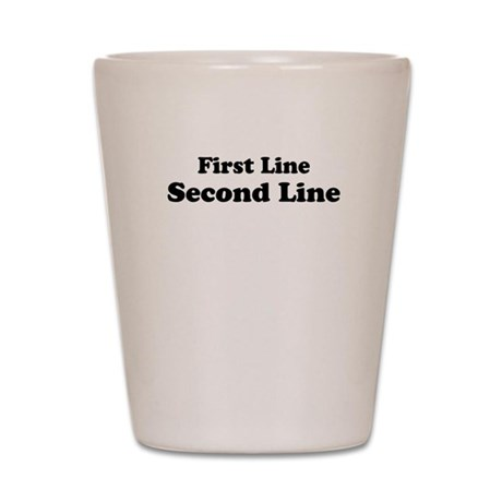 2lineTextPersonalization Shot Glass