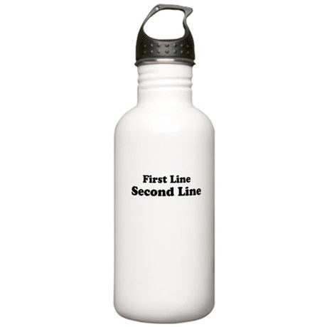 2lineTextPersonalization Stainless Water Bottle 1.