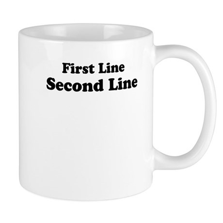 2lineTextPersonalization Mug