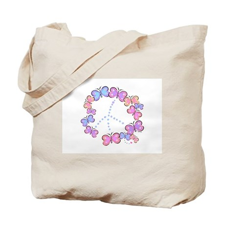 Butterfly Peace Tote Bag