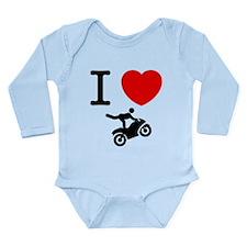 Stunt Riding Long Sleeve Infant Bodysuit
